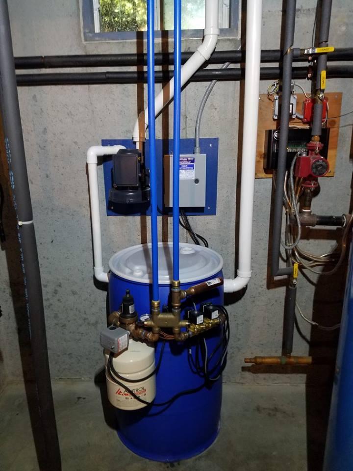 radon mitigation system installed in Bellingham