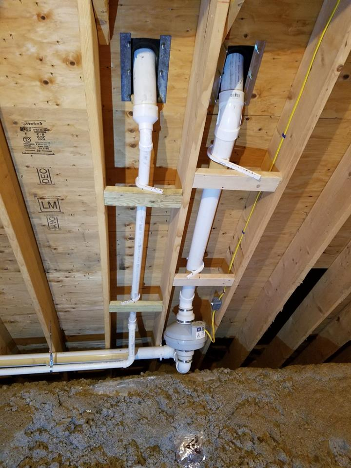 radon water mitigation system in Belmont MA